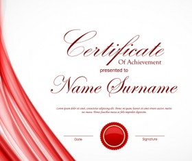 certificate template vector for free download certificate template vector for free