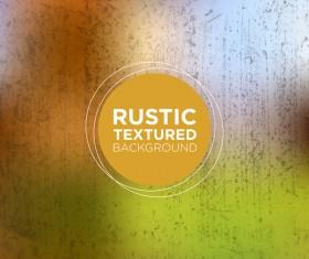 Rustic textured background vector 05