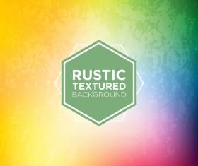 Rustic textured background vector 06