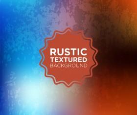 Rustic textured background vector 08