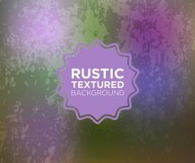Rustic textured background vector 15