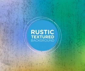 Rustic textured background vector 16