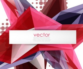 Sharp polygon abstract background vectors 11