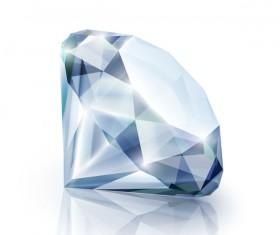 Shining diamond vector illustration 02