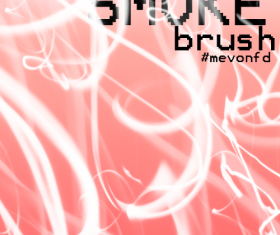 Smoke Wave Photoshop Brushes