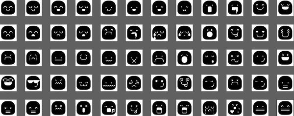 Solid Smileys Icons