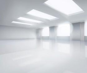 Spacious hall vector