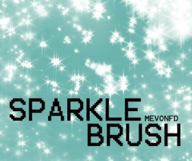 Sparkle High Photoshop Brushes