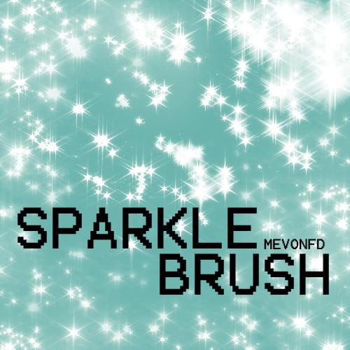 Sparkle High Photoshop Brushes