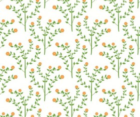 Spring flower seamless pattern vector material 06