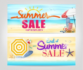 Summer sale special offer vectors 04