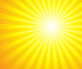 Sun light with ornage background vector 01
