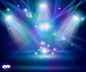 Super Lights Show effect vector 03