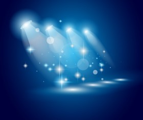 Super Lights Show effect vector 04