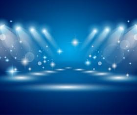 Super Lights Show effect vector 05