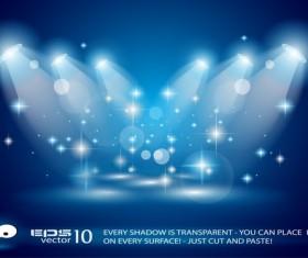 Super Lights Show effect vector 06