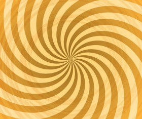 Vintage swirl background vector material