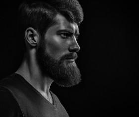 Wear a beard young man Stock Photo 10