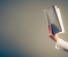 Woman reading a book Stock Photo 02