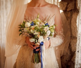 Womans bouquet in hands Stock Photo 11