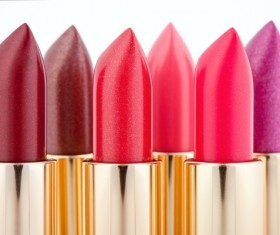 Womens various brand lipstick Stock Photo 07