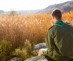 Young Boy Scouts Stock Photo 01