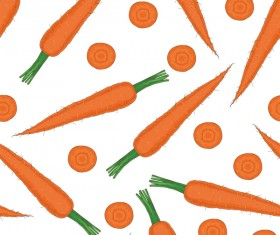 carrot seamless pattern vector 01
