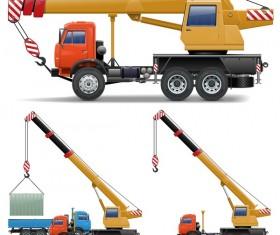 crane illustration vector