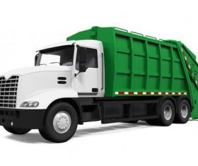 dumpcart garbage truck Stock Photo