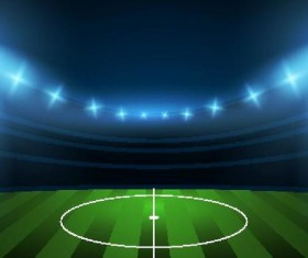 football field background vectors 01