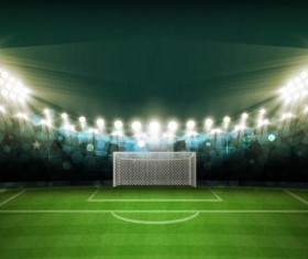 football field background vectors 02