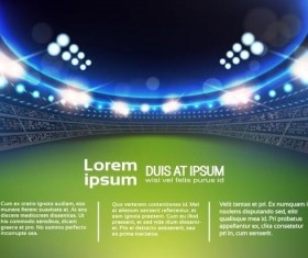 football field background vectors 03