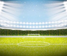 football field background vectors 04