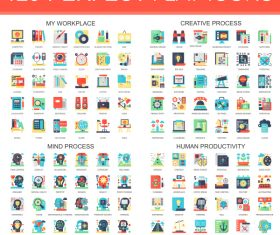 120 Perfect flat icons