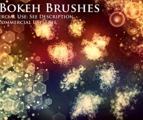 60 Kind Bokeh Effect Photoshop Brushes