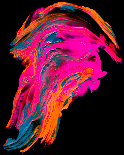Abstract Paint Stock Photo 16