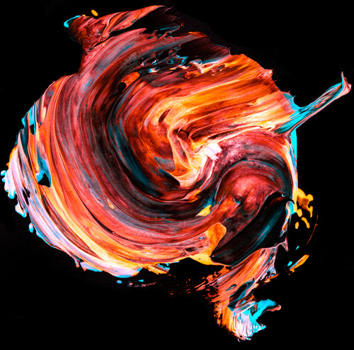 Abstract Paint Stock Photo 24