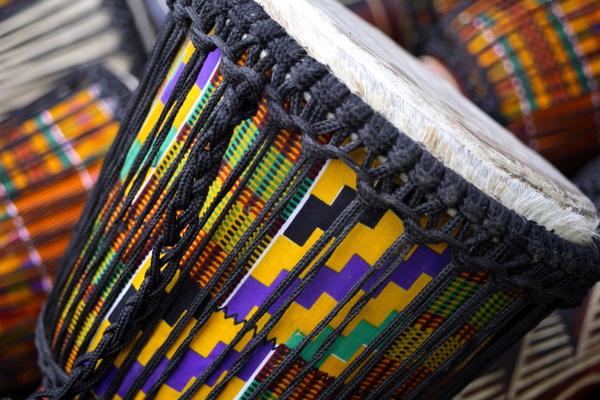 African drum Stock Photo 03