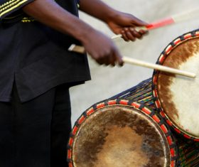 African drum Stock Photo 04