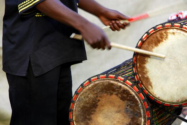 African drum Stock Photo 04