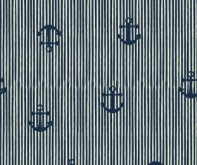 Anchor seamless pattern vector 02