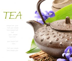 Asian Tea vector template 03