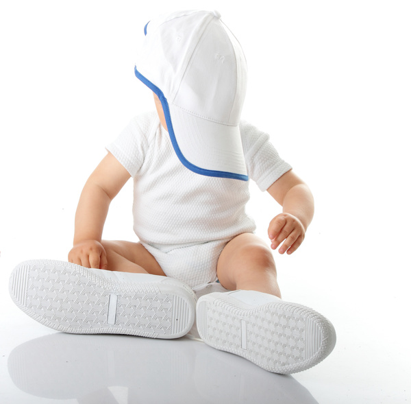 Baby and adult shoes Stock Photo 02