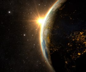 Beautiful planet Stock Photo 02