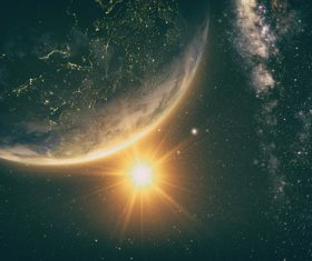 Beautiful planet Stock Photo 03