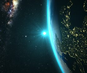 Beautiful planet Stock Photo 04