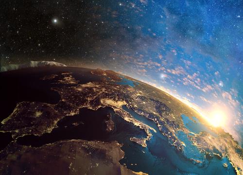 Beautiful planet Stock Photo 06