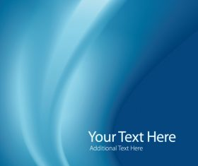 Blue abstract background for you text vector