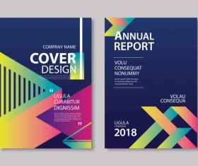 Brochure template vector design 03