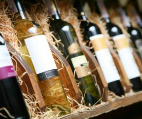 Cellar wines of all ages Stock Photo 05